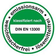 Zertifikat für Innenfarben
